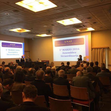 IV Assemblea Straordinaria UNAT -  Mandato Musto - Milano, 1 marzo 2016